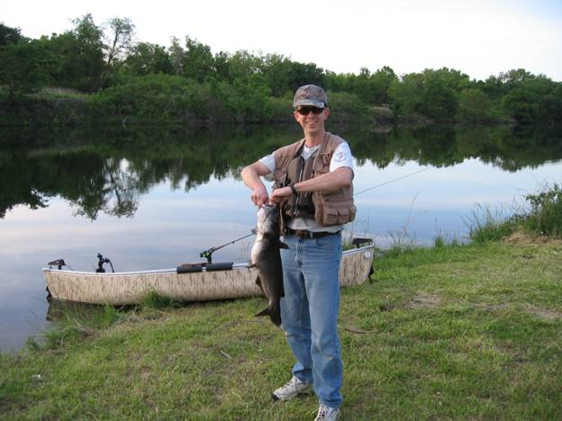 Flyanglers online s e kansas fish in for Trout fishing in kansas