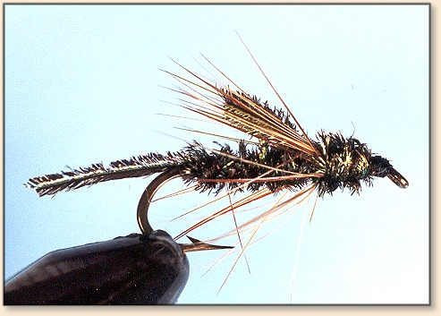 Emerger Fly Pattern / CDC Mayfly Emerger -- Orvis