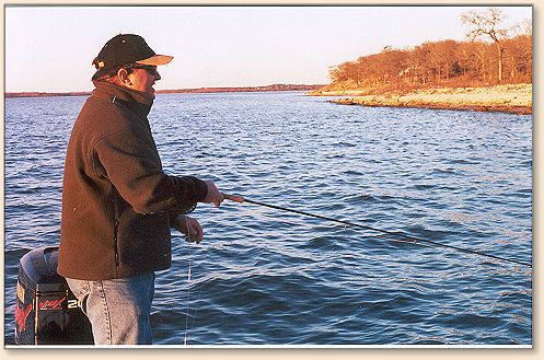 Lake texoma basics fly anglers online warm water for Texoma fishing license